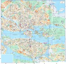 Travel Map Of Europe by Maps Of Stockholm Detailed Map Of Stockholm In English Maps Of
