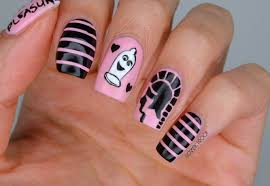 nails trojan condom valentine u0027s day nail art cosmetic proof