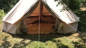 Tent Cabin by Canvas Camp 500 Bell Tent Inner Tent Cabin Youtube