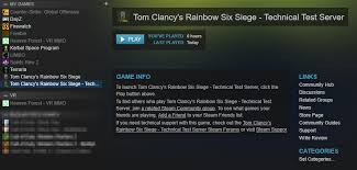 siege test technical test servers cd key problem forums