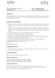 Financial Management Specialist Resume It Cv