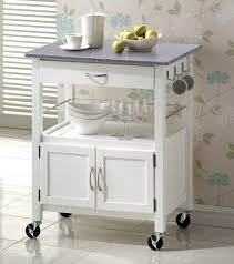 kitchen island cart ideas york white painted hevea hardwood kitchen trolley island with grey