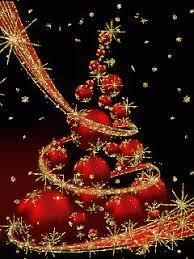 merry happy new year karácsonyi és tél gif képek