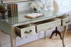 Antique Desks For Home Office The Glass Writing Desk Lustwithalaugh Design