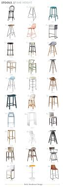 best counter stools the ultimate counter bar stool roundup emily henderson