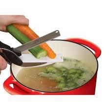 cuisine des legumes ciseau couteau des légumes clever cutter 2 en 1 en acier
