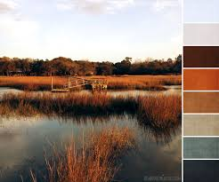 backyard creek palette love the burnt orange and storm like color