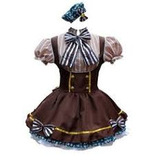 Animal Halloween Costumes French Maid Costumes Conservative Revealing Forms