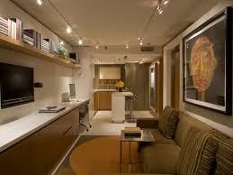 Room Studio Interior Design Small Apartments Long Narrow Along - Interior design for studio apartments