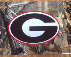 uga alumni car tag bulldogs etsy