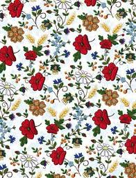 flower wrapping paper center gift wrapping paper embroidered flowers