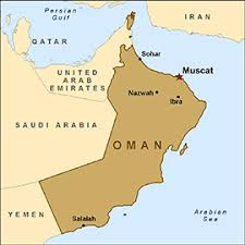 map of oman and uae worldly rise oman the land and the