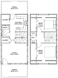 plan no 580709 house plans by westhomeplanners house 16x30 house 878 sq ft pdf floor plan model 23c tiny