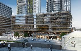 immeuble de bureau batijournal australie premier immeuble de bureau en bois batijournal