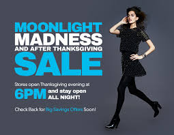 tanger outlets moonlight madness and after thanksgiving sale