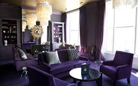 luxury design purple accent chair decorate a small room with a