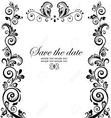 Best Engagement Invitation Cards Top Compilation Of Wedding Invitation Borders Theruntime Com