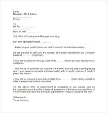 sample offer letter for employment in malaysia docoments ojazlink