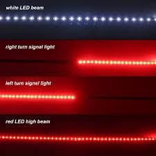 60 u2033 flexible led light strip tailgate bar backup reverse brake