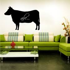 wallstickers folies cow chalkboard blackboard wall stickers cow chalkboard blackboard wall stickers