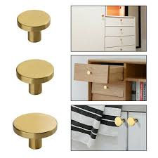 kitchen cabinet door knobs and handles door knobs drawer cabinet handles 25 28 33mm modern brass gold cupboard pulls ebay