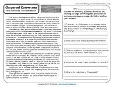 excretory system comprehension reading comprehension and reading