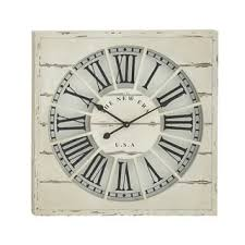shabby chic wall clocks shop the best deals for dec 2017
