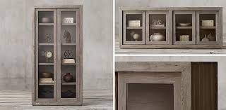 restoration hardware china cabinet cabinet collections rh