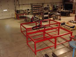 cnc router table 4x8 4x4 4x8 and 5x10 cnc plasma and router tables in various stages of