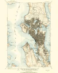 Seattle Pacific University Campus Map by Historical Maps Spatialities