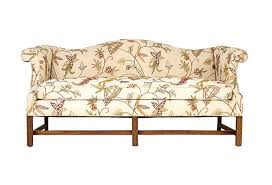 chippendale sofa chippendale style camel back sofa janney s collection