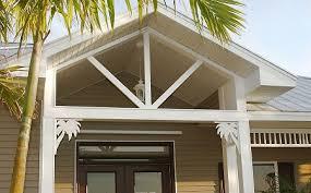 palm tree mailbox accessory or porch decorative corner bracket