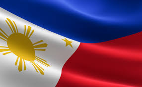 flag of philippines illustration of the flag waving photo