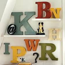 Ideas For Letters Wall Decor Letters Metal Ideas Initial Nursery Wooden Decoration