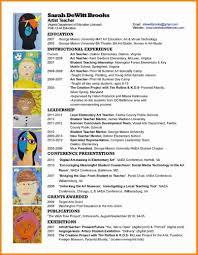 Student Teacher Resume Sample Art Teacher Resume Resume For Your Job Application