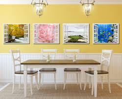 cherry blossom beautiful flower 3d window wall art home decor