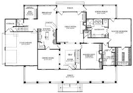 first floor plan of colonial country farmhouse plantation house