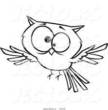 cute owl outline