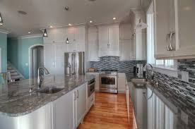 Overlay Kitchen Cabinets Full Overlay Shaker With Bead Inlay In Alabaster Finish With