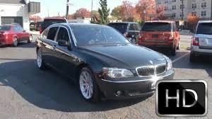 2006 bmw 750 li 2006 bmw 750li 7 series sedan