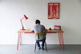 industrial hairpin leg desk hairpin leg dining table desk cord industries