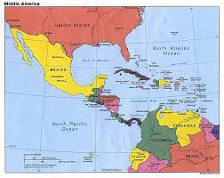 Map Of Equator In South America by Map Of North America And Central America Roundtripticket Me