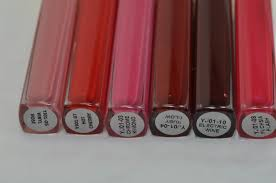 new estee lauder pure color high intensity lip lacquer swatches