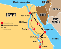 The Red Sea Map Best Of Egypt 10 Days 5 Nile Cruise U0026 2 Days At The Red Sea Go