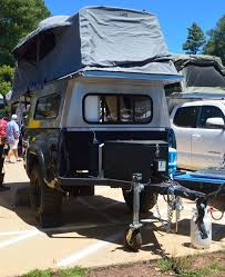 Truck Bed Trailer Camper In Photos Small Off Grid Living In Vans On Roofs And In Trailers