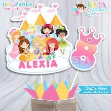 princess centerpieces pink princesses party decor center piece
