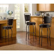 linon home decor saddle 29 in dark brown bar stool 98442dkbrn01