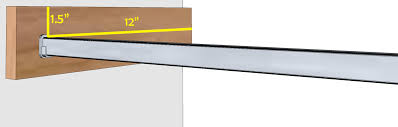 Diy Bedroom Wall Closets Diy Closet Organizer Plans For 5 U0027 To 8 U0027 Closet