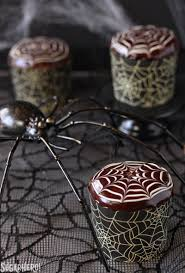 spiderweb cupcakes and chocolate spiders sugarhero