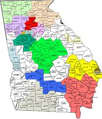 Northeast Georgia Map Georgia Regional Service Committee Of Narcotics Anonymous